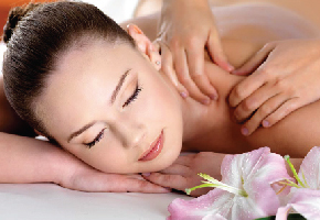 Foot Massage with Back, Head and Shoulder