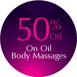 50% off on oil massages
