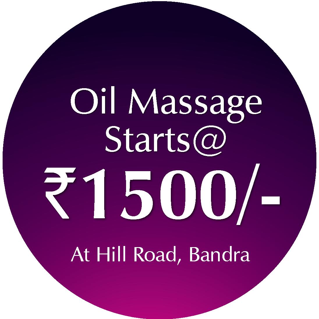 Oil Massage @ 1500